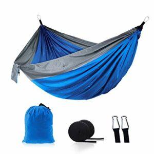 BINGBIAN Hamac de camping pliable pour activités de plein air, fitness, escalade, divertissement