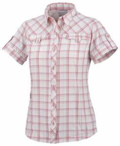 Columbia Best Butte Short Sleeve Shirt Chemise manches courtes randonnée femme Burnt Henna XL