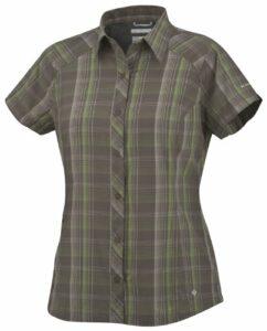 Columbia Hit the Trail Short Sleeve Shirt Chemise manches courtes randonnée femme Major M