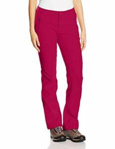 Columbia Pantalon de Randonnée Femme, BACK BEAUTY PASSO ALTO HEAT PANT, polyester, Rouge (Pomegranate), Taille W38/R, TL8479