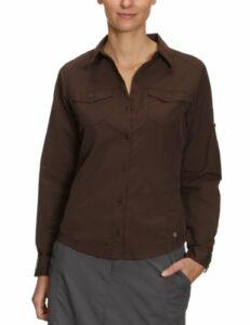 Columbia Psych to Hike L/S Shirt Chemise manches longues randonnée femme Bark S