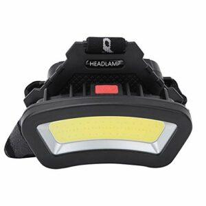 DAUERHAFT Lampe Frontale Rechargeable, Lampe de Travail Multifonction réglable à LED, pour Camping en Plein air, vélo, pêche en Cours d'exécution, Lampes frontales pour Adultes
