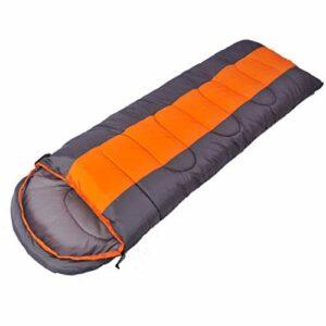 Élargie sac de couchage épaissie, l'enveloppe sac de couchage, un rembourrage en coton à fibres creuses, adapté for sacs à dos avec des sacs de compression / randonnée / randonnée / camping / escalade