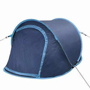 FZYHFA pop-up Tente dôme pliable portable avec sac de transport étanche d'extérieur pour la randonnée escalade Camping pour 2personnes