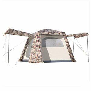 kyman Camping Tente Auvent Pop-Up, Tente de Plage, Espace de Rangement Portable, extérieur, Camping 240 x 240 x 185cm Tente de Camping Automatique