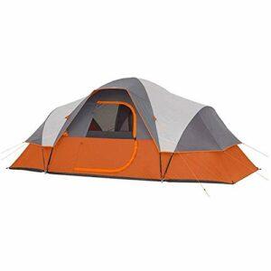 kyman Tente Automatique de la Tente de Camping, avec Sac d'emballage, Tente de Camping familiale à Coupe-Vent Bleue, adaptée aux Sports de Plein air Tente de Camping Automatique