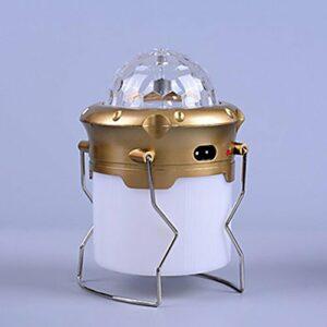 Lanternes & Lampes de tente LED Mode AA Rechargeable bekalan kuasa mudah alihCamping/Randonnée/Spéléologie Chasse Escalade