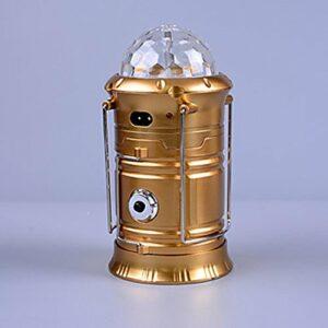 Lanternes & Lampes de tente LED Mode AA Rechargeable bekalan kuasa mudah alihCamping/Randonnée/Spéléologie Chasse Escalade(Couleur aléatoire)