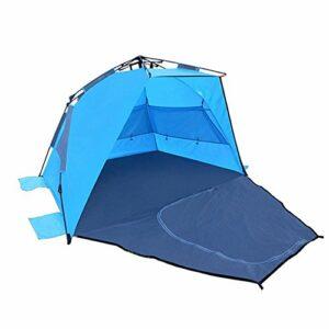 Love Cloud Premium Blue Beach Tente Adulte Et Enfants Pêche À La Crème Solaire Camping Et Jardin Aire De Jeux, Blue