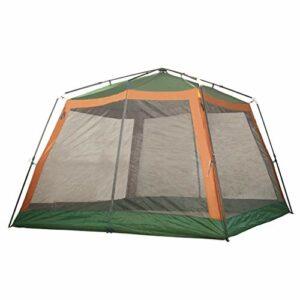 LXX Tente Automatique Pop Up Camping Tente 8 Personne Famille Tentes, Big Easy Up, Grand Maille Porte, imperméable, crème Solaire tentes (Color : Green)