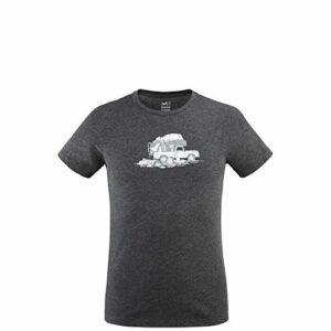 Millet – Pack Load TS SS M- T-shirt Sport Homme – Respirant – Randonnée, Escalade, Lifestyle – Noir