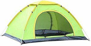 Pratiko Life Vert Tente de Camping moustiquaire et Fermeture à glissière, Dimensions : 150 x 200 x 110 cm