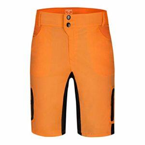 Shorts de cyclisme à séchage rapide, demi-pantalons de vélo de montagne, shorts de vélo de VTT, bas d'entraînement de course de loisirs avec poches à glissière étanches, pour l'escalade en plein air