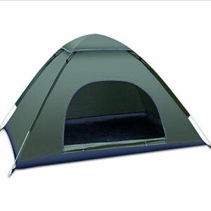 tente de camping léger pôle de fibres de verre pour 2-3 personnes / 3-4 personnes randonnée pédestre , 3-4