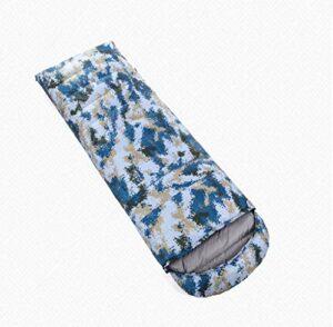 TOHOYOK Enveloppe Sac de Couchage, Ressort léger/été/Sac de Couchage d'automne, 95% Duvet d'oie Blanche Rembourrage, adapté for Sacs à Dos/randonnée/randonnée Naturelle/Camping/Escalade avec des s