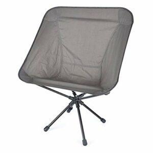 XuCesfs Chaise de camping pliable en alliage d'aluminium 7075 Chaise pliante pour loisirs Décompression Chaise pivotante portable pliante