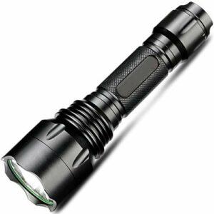 XuCesfs Lampe torche LED rechargeable super lumineuse étanche pour escalade, randonnée, camping, extérieur