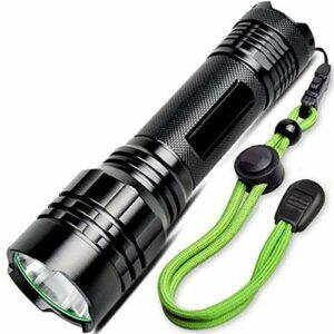 XuCesfs Lampe torche LED rechargeable super lumineuse puissante pour escalade, randonnée, camping, transport quotidien