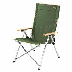Yuzhijie Chaise Pliante en Aluminium (Amano) Chaise de Camping de Plage, Green
