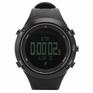 Alomejor Montre d'escalade Montre de Sport numérique pour Hommes Montres-Bracelets étanches électroniques avec Alarme de chronomètre
