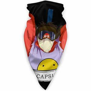 AmyNovelty Neck Balaclava,Akira The Capsules Vs Clowns Magic Scarf, Écrans Faciaux Polyvalents pour Le Camping en Cours D'Exécution,24x52cm