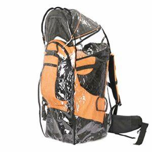 BJYX Siège de transport pour enfant avec coussin épais multifonction amovible et réglable en hauteur avec auvent pour extérieur, randonnée, voyage, camping