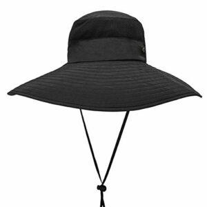 Byrhgood Chapeau Chapeau de Soleil Été en Plein air Grand Pliant UV Pliant Escalade Chapeau de pêcheur visière Chapeau de pêche Super Chapeau (Color : D)
