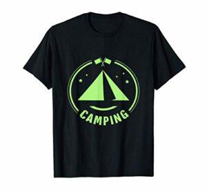 Camping camping motif de feu de camp cadeaux montagnes T-Shirt