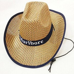 Chapeau chapeau de soleil Chapeau de paille de cow-boy occidental, été en plein air escalade pêche écran solaire chapeau de pêcheur grande cap respirant plage froide avec mentonnière ( Color : Red )