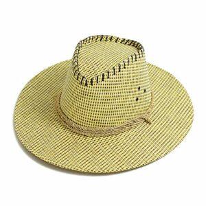 Chapeau Chapeau de Soleil Chapeaux de Cow-Boy été été en Plein air Escalade pêche Chapeaux de Soleil Grand Chapeau de Plage crème Solaire Ceinture avec mentonnière (Color : Beige)