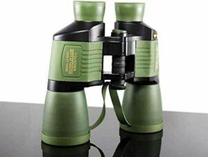 FACAIA Jumelles 10X50 autofocus Haute résolution en HD télescope de Vision Nocturne étanche pour l'observation des Oiseaux en Plein air Astronomie Escalade Adulte et Enfants