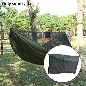 FADDARE Grand espace de rangement pour hamacs, léger et pliable, sac de rangement pour les sports de plein air et l'escalade