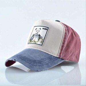 fssdd Running Hat Sport Cap Outdoor Sport Denim Randonnée EscaladeBleu