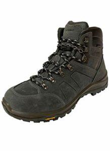 Grisport Hiking Evo High Chaussures de randonnée imperméables pour homme et femme – Bleu – charcoal, 37 EU