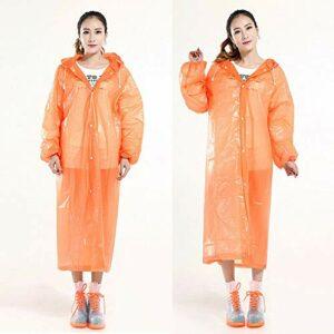HoitoDeals Cape de pluie imperméable réutilisable en plastique pour camping, marche