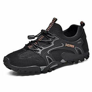 Hommes Femme Chaussures de Randonnée Sport en Plein Air Respirant Antidérapant Espadrilles Légères, Douces Chaussures d'escalade