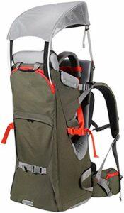 Sac à dos pour enfant – Pliable – Multifonctionnel – Détachable – Avec auvent – Pour randonnée en plein air – Charge maximale de 25 kg