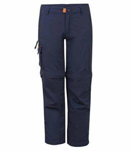 Trollkids Pantalon de Trekking Oppland – Bleu – 15 Ans