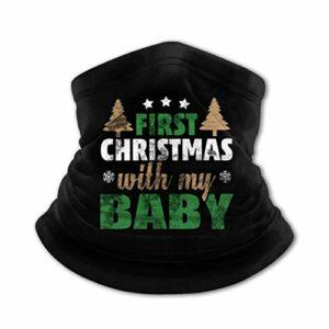 TUCBOA Sweatband,Écharpe Magique De Noël, Bandeaux Magiques en Polyester pour l'escalade De Camping,26x30cm