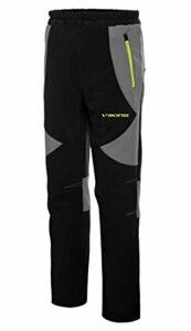 viking Pantalons Fonctionnels Longs Enfants – pour Les Garçons Et Les Filles – pour Le Trekking, La Randonnée – Respirant – Summit Jr, Noir/Gris, 140