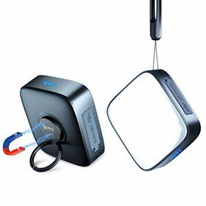 WUBEN F5 Lanterne Camping LED, Lampe Torche LED Ultra Puissante USB Rechargeable 500lm, Luminosité Réglable, Eclairage Camping Etanche, pour Camping, Bivouac, Pêche, Randonnée, Cave, etc.