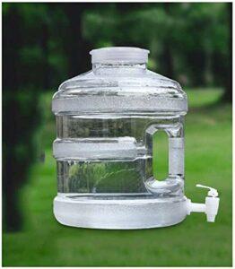 XHP Grande bouteille d'eau avec poignée en plastique à large ouverture et étanche pour le camping, la randonnée, l'escalade, la pêche, les voyages (taille : 15 L)