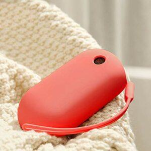 ZZWBOX Chauffe-Main Rechargeable USB Chaufferette Main,20000Mah Chauffe-Mains Électrique Reutilisable Portable Power Bank,3 Niveaux De Chaleur,pour Ski,l'escalade,Randonnée