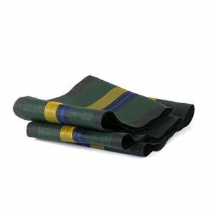Ampel 24 – Lot de 6 Sacs de lestage avec poignée et Cordon/boudins vides tissés en monofibre/contrepoids pour Jardin ou Camping