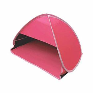 Amusingtao Abri de plage, tente de plage automatique, abri solaire portable, protection contre les UV pour la pêche, la randonnée, le camping, imperméable et coupe-vent