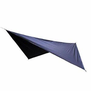Camping Tarp Tente légère imperméable empreinte Blanket Mat pour Camping Randonnée pique-nique Noir 1pc