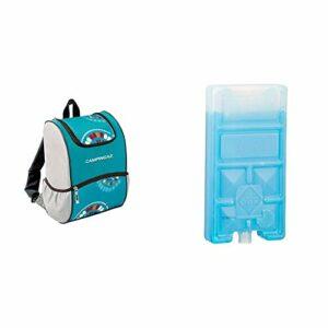 Campingaz 2000032469 Sac à Dos Mixte Adulte, Bleu,9l & Accumulateur de Froid Freez'Pack M5 – Lot de 2