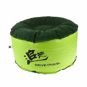 Chenbz Air Chair Portable Durable Équilibre camping en plein air Chaise gonflable Tabouret Forme Ronde Mode AMEUBLEMENT extérieur