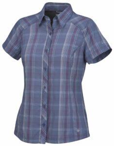 Columbia Hit the Trail Short Sleeve Shirt Chemise manches courtes randonnée femme Velvet Morning S