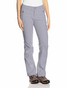 Columbia Pantalon de Randonnée Femme, BACK BEAUTY PASSO ALTO HEAT PANT, polyester, Gris (Astral), Taille W42/R, TL8479
